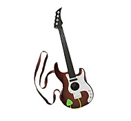 Plastic Brown Simulation Child Guitar for Children Above 3 Musical Instruments Toy