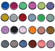 24PCS Mix Color Nail Art Sculpture Carving Acrylic Powder