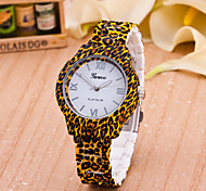 Women's European Style Fashion Leopard Printed Wrist Watch