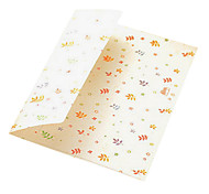 3 cartoon color envelope card storage bag (pattern random)