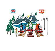 Animais / Desenho Animado / Moda / Transporte / Abstracto / Fantasia / 3D Wall Stickers Autocolantes de Parede Luminosos,pvc 60*90cm