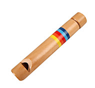 Holz gelb Kind Holzflöten für alle Kinder Musikinstrumente Spielzeug