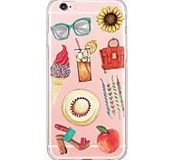 iPhone 6s Plus/6 Plus / iPhone 6s/6  TPU Transparent Back Cover