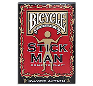 Poker Wooden Bicycle Bike Card Collection Series Magic Card Suit