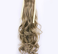 comprimento borwn 50 centímetros venda direta da fábrica ligamento tipo cavalinha enrolar o cabelo rabo de cavalo (cor 27-A / 613)