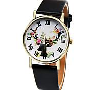 New Fashion Deer Watch Women Quartz Watch Casual Geneva Watches Relogio Feminino Cool Watches Unique Watches