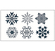 Fashion Temporary Tattoos Snowflake Sexy Body Art Waterproof Tattoo Stickers 5PCS (Size: 2.36'' by 4.13'')