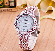 Women's New European Style Fashion Printing Peculiar Pattern Wrist Watch