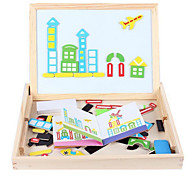 Children's Early Education Puzzle, Educational Toys Wooden Blocks, Children Intelligence Sketchpad, Magnetic Spell Spell