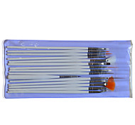 1set Include 15 Pieces Nail Art White Stick Draw Image Pen Nail Makeup Manicure Tools NAO25