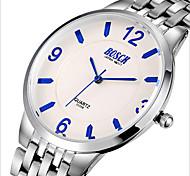 Men's Watch Large Dail Quartz Steel Strip Ultrathin Hot Style Business Precision Waterproof Casual Watch