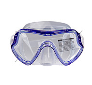 Diving Masks Swim Mask Goggle Snorkel Set Dry Top Diving / Snorkeling silicone-SBART
