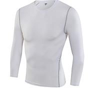 Corrida Camiseta Homens Secagem Rápida / Redutor de Suor Corrida Esportivo Wear SportsBranco / Verde / Vermelho / Cinzento / Preto / Azul