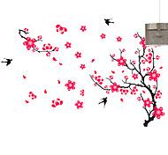 Animales / Botánico / Romance / Naturaleza muerta / De moda / Florales / Ocio Pegatinas de pared Calcomanías de Aviones para Pared,PVC