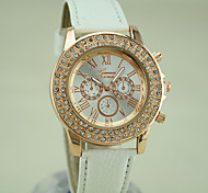 Women's European Style Fashion New Shiny Luxury Rhinestones Wrist Watch