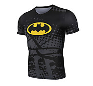 Short Sleeve  Black Compression Clothing/Yoga/Leisure Sports/Running/Racing/Cycling/Compression  Tops/Leisure Sports