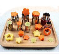 Utensílios de Cozinha / Ferramentas de Fruta e Vegetais Aço Inoxidável Conjuntos de Ferramentas