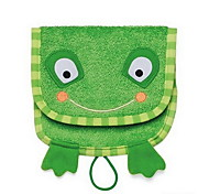 Cartoon Kids Wash Towel Baby Bath Cotton Soft Baby Wash Cloth (Frog)