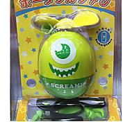 Mini Egg Type Portable Soft Charging Fan PoPeyes Students