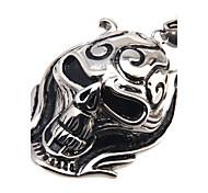 316L Stainless Steel Pendant Skeleton King