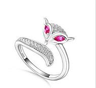 Charm Fox Ring