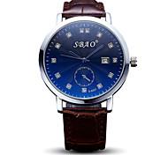 Men's Fashion Taste Quartz Casual Calendar Ultrathin Couple's Simple Student Gift Pouplar Top Grade Watches