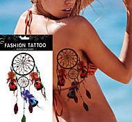 5 Tatuajes Adhesivos Otros Non Toxic WaterproofMujer Hombre Adulto Juventud flash de tatuaje Los tatuajes temporales