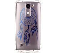 Back Pattern Dream Catcher TPU Soft Luxury Bronzing Case Cover For LG LG K10 / LG K8 / LG K7
