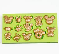 1 Horneando Ecológico / Gran venta / decoración de pasteles / De Armar / Herramienta para hornear / 3D / Alta calidad / Antiadherente