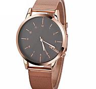 correa del reloj de escala simple de los hombres de la manera mira los relojes de pulsera de cuarzo analógico