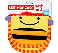 Cartoon Kids Wash Towel Body Cleaning Baby Bath Wash Cloth (Bee)