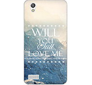 For OPPO Case Pattern Case Back Cover Case Scenery Soft TPU OPPO Other