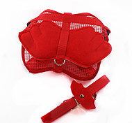 Elegant Wings Pattern Harness with Leash for Pet Dogs(Assorted Sizes,Assorted Colours)