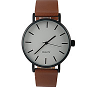 Simple Brown Lady Quartz Watch