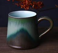 Jingdezhen Handmade Ceramic Mug Creative Casting Ink Mugs