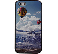 The New Hot Air Balloon Pattern Painted Camera Fill Light Phone Case For iPhone 5/5S/SE/6/6S/6 Plus/6S Plus