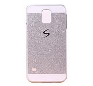 gimnasio Flash buling polvo de nuevo caso para i9600 Samsung Galaxy S5 (colores surtidos)