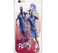 zurück Stoßfest / Wasserdichte / Transparent Other TPU WeichBack Shockproof/Waterproof/Transparent TPU Soft Football Star Case Cover For