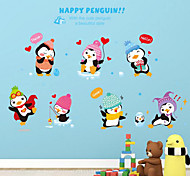 Happy Feet Removable Wall Stickers Children'S Room Nursery Cartoon Stickers Glass Desk Shoe