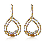 Drop Pendant design style Earring For Women Fashion Brand New Jewelery 18K Gold Plated Drop Earrings Party Gifts