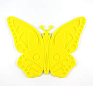 Creative Kitchen Gadget / Meilleure qualité / Haute qualité Cartoon Butterfly Models Slip Silicone Mat Heat Mat A-24 Silicone 18*14.5*0.4