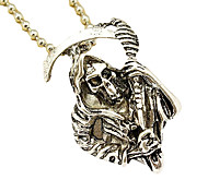 "Television Series ""Chaos"" Personality Male Skull Pendant Necklace"