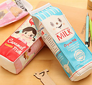 Fun Simulation Korean Cute Pencil Pencil Milk Storage Purse Stationery