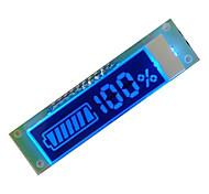 électrique écran à cristaux liquides lcd chargeur de voiture capable d'afficher la quantité de la production électrique