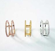 Mrcro Zircon Ring