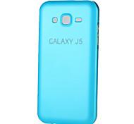 Para Funda Samsung Galaxy Other Funda Cubierta Trasera Funda Un Color Metal Samsung J7 / J5 / Grand Prime / Grand 2 / Core Prime