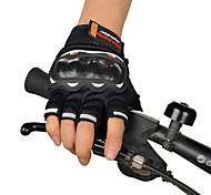 Off-Road Motorcycle Racing Gloves Half Finger Summer Knight Riding Motorcycle Half Finger Gloves