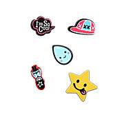 Fashion Cute I'm So Cool Pin Brooch Set