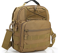 25 L Rucksack Camping & Hiking Outdoor Waterproof Gray / Khaki / Black / Army Green / Camouflage Nylon
