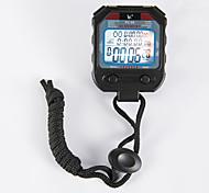 elektronische Stoppuhr PC90 drei Reihe 60 Speicher Stoppuhr Stoppuhr Stoppuhr Bewegung Sport-Timer